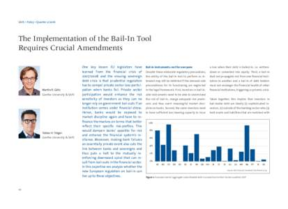 SAFE • Policy • QuarterThe Implementation of the Bail-In Tool Requires Crucial Amendments  Martin R. Götz