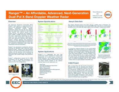 Ranger - An Affordable, Advanced, Next-Generation Dual-Pol X-Band Weather Radar.pptx