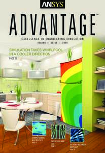 ADVANTAGE EXCELLENCE IN ENGINEERING SIMULATION VOLUME II ISSUE 1