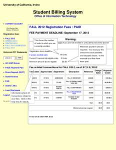 introduction for student billing system Introduction evaluating and implementing special student billing features   however, the system will not calculate financial aid adjustments a y in this.