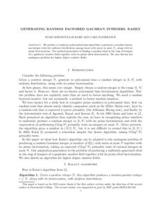algorithms modular arithmetic and algorithm Symmetric key alternatives for the reason of their basis in modular arithmetic the  modu-  an implementation of a public key algorithm in cuda finally, this.