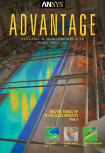 ADVANTAGE EXCELLENCE IN ENGINEERING SIMULATION VOLUME I ISSUE 3