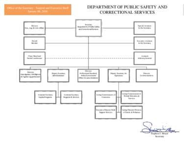 Security plan for the maryland public safety education