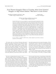 Journal of Educational Psychology 2016, Vol. 108, No. 3, 314 –328 © 2016 American Psychological Association/$12.00 http://dx.doi.orgedu0000092