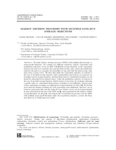 Logical Methods in Computer Science Vol. 10(1:, pp. 1–29 www.lmcs-online.org Submitted Published