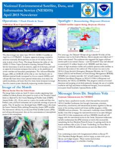 NESDIS News Update for February 2014