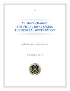 OMB Climate Change Fiscal Risk Report