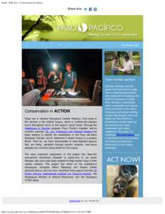 email : Webview : Conservation in Action