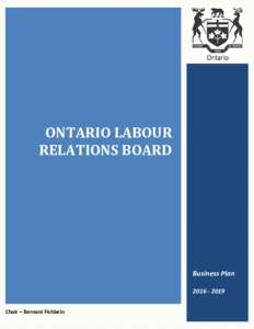 Ontario Labour Relations Board