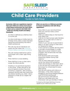 Child Care Regulations in Maryland - Military OneSource
