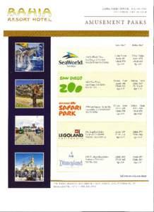 BAHIA  ~~iHJ~~ RESORT HOTEL  SALES OFFICE: