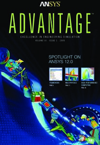 ADVANTAGE  TM EXCELLENCE IN ENGINEERING SIMULATION VOLUME III