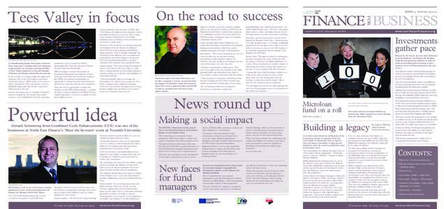 On the road to success Eighteen months on and the company is riding high. It has just landed a further £1.8m from the Regional Growth Fund to assist in the setting up of a publishing operation for its innovative Auto Cl