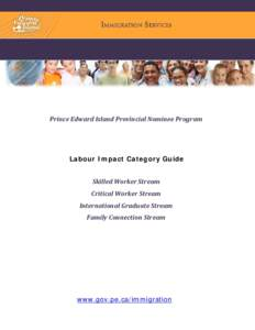 permanent residence application guide provincial nominee