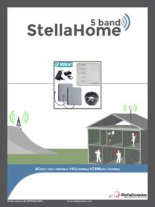 5 band  StellaHome 4G2600Mhz) +3G(2100Mhz) +GSM(900 /1800Mhz)