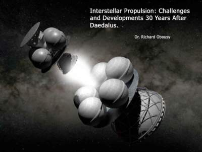 The Challenges of Interstellar Missions What is 'wrong' with current rocket propulsion technology? ~25 star systems in 4 parsec radius British Interplanetary Society 2009