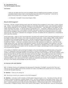 Dr. Laleh Bakhtiar Ph.D. The Sufi Enneagram Interview Jim Gomez