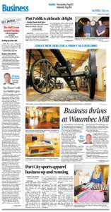Business  Inside: Perspective, Page B7 Editorials, Page B8  Sunday News