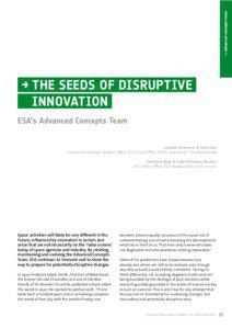 → advanced concepts team  → THE SEEDS OF DISRUPTIVE
