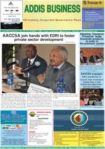 News Addis Business inside July.indd