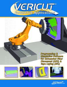Programming & Simulation Software for Automated Fiber Placement (AFP) & Tape L aying (ATL)
