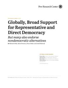Microsoft Word - Pew Research Center Democracy Report FINAL