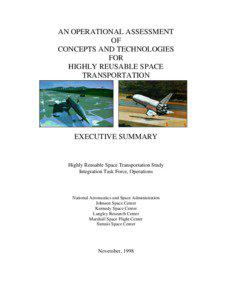 AN OPERATIONAL ASSESSMENT OF CONCEPTS AND TECHNOLOGIES