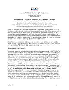 Microsoft Word - NIAC leveraging.doc