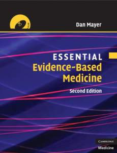 Essential Evidence-based Medicine, Second Edition (Essential Medical Texts for Students and Trainees)