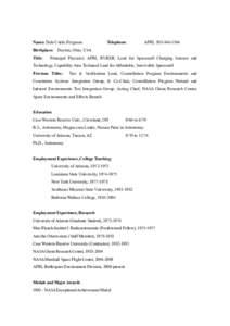 Microsoft Word - Short_resume_Ferguson_v2.docx