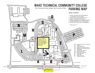Wake Tech Community College North Campus Map   Online Colleges All