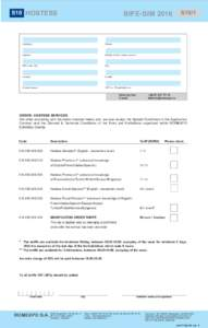 S10 HOSTESS  BIFE-SIM 2016 Companyompany