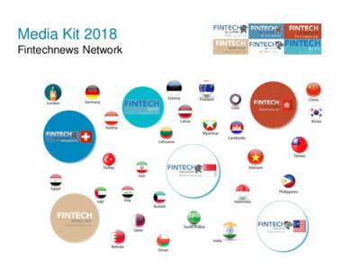 Media Kit 2018 Fintechnews Network Fintechnews Universe Websites are planets, subsites and social media are satellites