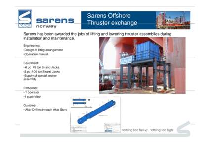 Microsoft PowerPoint - Offshore Thruster - Presentation