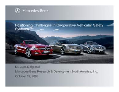 Dedicated short range communications idmarch document for Mercedes benz research development north america