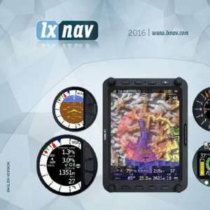 ENGLISH VERSION  2016 | www.lxnav.com LX 80xx/90xx computer LXNAV computers for the