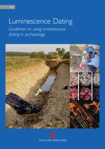 Luminescence dating guidelines on using in archaeology 5