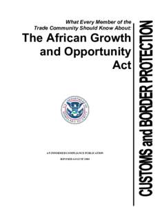 Microsoft Word - African Growth Opportunity Act.doc