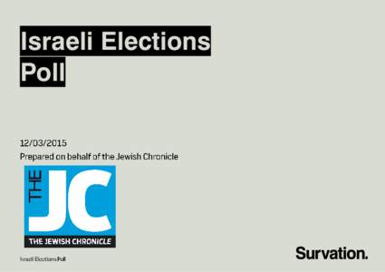 Israeli Elections Poll Methodology  Page 4