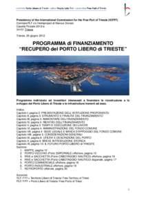 Microsoft Word - IT, PROGR. FINANZ. Recupero PLT.doc