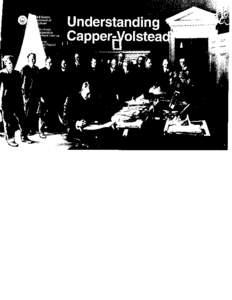 Understanding Capper-Volstead U.S. Department of Agriculture Rural Business and Cooperative Development Service Cooperative Information Report 35  June 1985