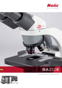 LS  BA210E BASIC BIOLOGICAL MICROSCOPE  02