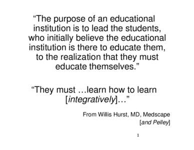 the purpose of education doc Defining quality in education their purpose is to facilitate the rapid exchange of knowledge and perspectives among field offices and to stimulate discussions.