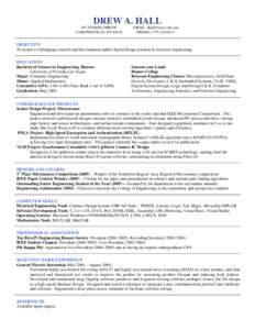 Microsoft Word - Resume4.doc