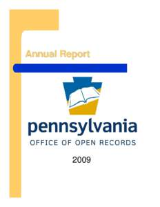 Annual Report  2009 A message from Executive Director