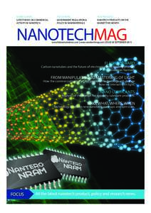 BUSINESS NEWS LATEST NEWS ON COMMERCIAL ACTIVITY IN NANOTECH POLICY NEWS GOVERNMENT REGULATION &