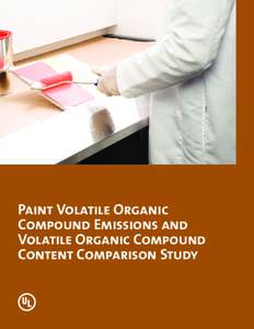 Paint Volatile Organic Compound Emissions And Volatile