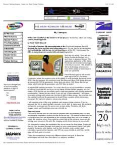 Electronic Publishing Magazine - Graphic Arts, Digital Printing, Publishing:54 AM SEARCH