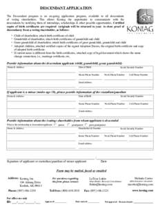 birth certificate name change application