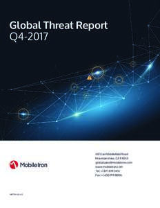 Global Threat Report Q4East Middlefield Road Mountain View, CA 94043